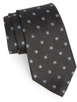 Nordstrom Men's Open Ground Geometric Silk Tie