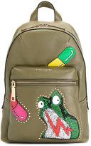 Marc Jacobs Verhoeven Biker backpack - women - Leather - One Size