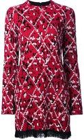 Proenza Schouler fringed jacquard tunic