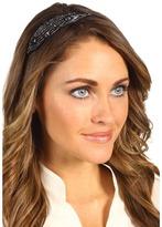 Jane Tran - Barlow Beaded Headband (Black) - Accessories