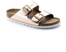 Birkenstock Arizona Natural Leather Copper - 40 (UK 7) / Copper