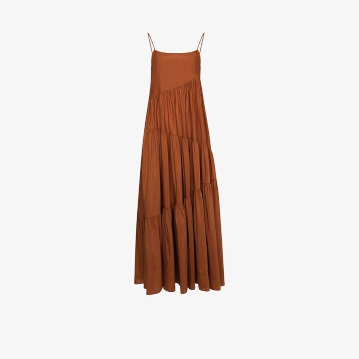 Matteau Square Neck Maxi Dress