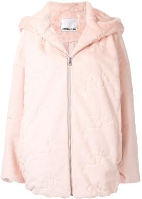 Ground Zero Faux Fur Hooded Coat