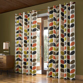 Orla Kiely Multi Stem Eyelet Curtains - 168x137cm