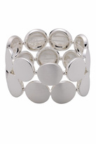 Pilgrim Silver-Plated Circular Bracelet
