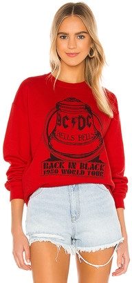 Junk Food Clothing ACDC Hells Bells Sweatshirt