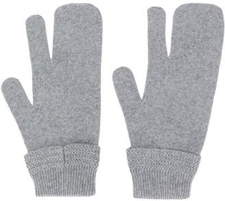 Maison Margiela three finger gloves