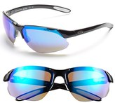 Smith Optics Women's 'Parallel D Max' 65Mm Polarized Sunglasses - Black White/ Blue/ Clear