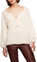 Gerard Darel Ansel Pull Over Blouse, Beige