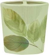 Bacova Guild Waterfall Leaves Toothbrush Holder