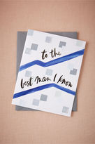 BHLDN To the Best Man I Know Card