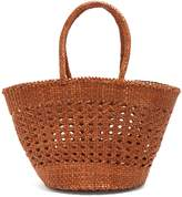 DRAGON DIFFUSION Market Cannage woven-leather basket bag