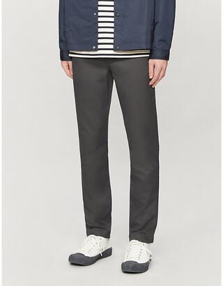 Ted Baker Slim-fit herringbone trousers