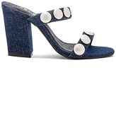 Sol Sana Sheri Heel in Navy. - size 37 (also in 38)