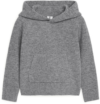 Arket Knitted Wool Hoodie