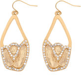 Kara Ross FINE JEWELRY 10021 | Crystal Chunky Dangle Earrings