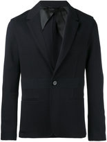 Lanvin front band blazer - men - Cotton/Viscose/Wool - 48