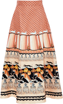 Temperley London Foxglove Midi Skirt