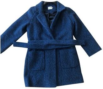 Ganni Blue Polyester Coats