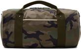 Valentino Garavani Valentino Green Camo Rockstud Duffle Bag