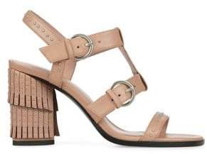 Donald J Pliner Freya Leather Heeled Sandals