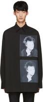Raf Simons Black Robert Mapplethorpe Edition Laurie Oversized Shirt