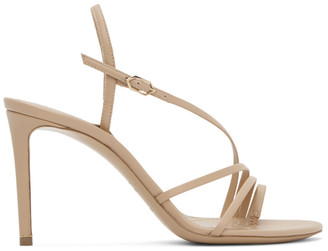 Nicholas Kirkwood Pink Nappa Elements 85 Sandals