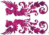 Freestyle 28 in. x 36 in. Fantasy Wall Decal