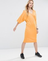 Asos Midi T-Shirt Dress with Kimono Sleeve