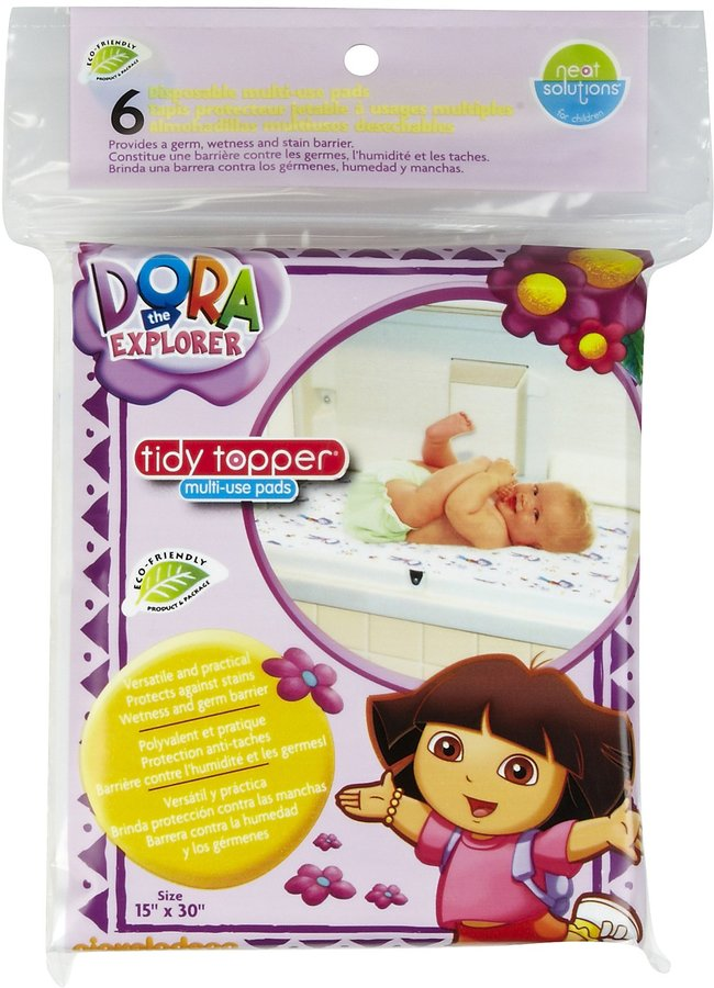 Neat Solutions XL Changing Pads - Dora the Explorer - 6 ct