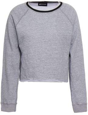 Monrow Melange French Terry Sweatshirt
