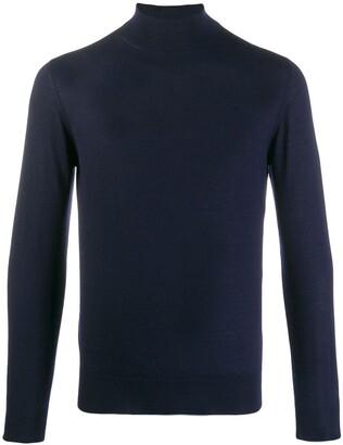 Cruciani cashmere turtleneck jumper