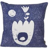ferm LIVING Landscape Cushion - Blue