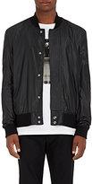 Public School Men's Tech-Taffeta Bomber Jacket-BLACK