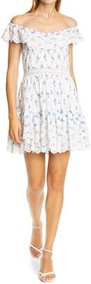 LoveShackFancy Denver Ruffle & Lace Dress