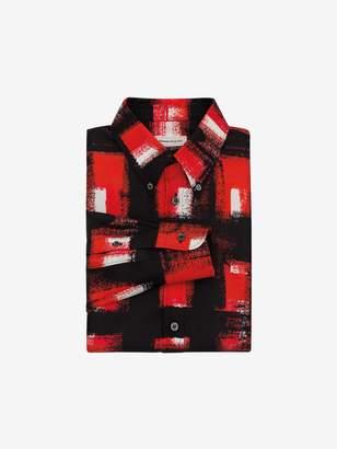 Alexander McQueen Painted Check Shirt