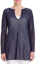 Nic+Zoe Sun Lace Camisole Tunic Top