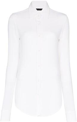 Alled Martinez Fine-Knit Slim-Fit Shirt