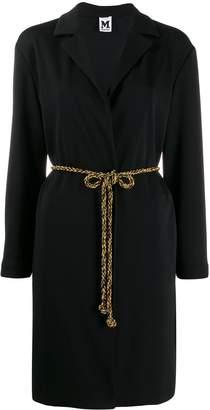 M Missoni belt detail coat