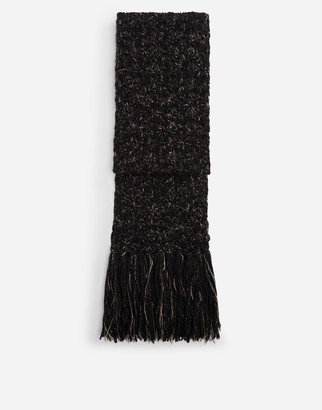 Dolce & Gabbana Wool And Cashmere Scarf