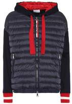 Moncler Cotton hooded puffer jacket