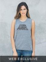 Junk Food Clothing Star Wars Raglan Tank-steel-m