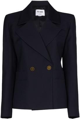 RE/DONE 80s Wool-Blend Blazer
