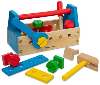 Melissa & Doug Jumbo Wooden Tool Kit Toy Nursery Playroom Decor - Classic
