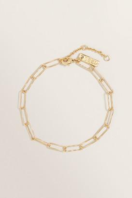 Seed Heritage Fine Wide Chain Bracelet