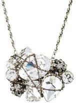 Erickson Beamon Crystal & Chain Necklace