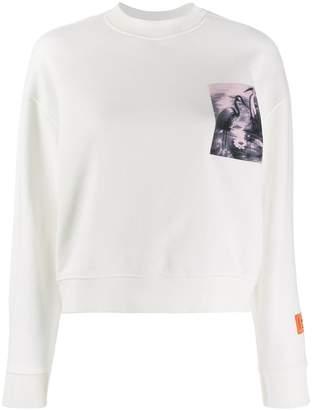Heron Preston Heron printed sweatshirt