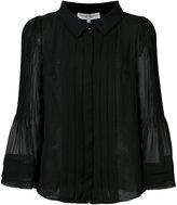 Carolina Herrera pleated chiffon blouse - women - Silk - 8