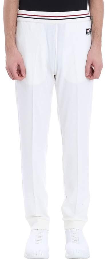Ermenegildo Zegna White Cotton Pants
