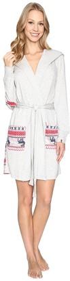 Jane & Bleecker Women's Hooded Robe